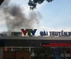 Cháy tại trường quay đài truyền hình việt nam bá»